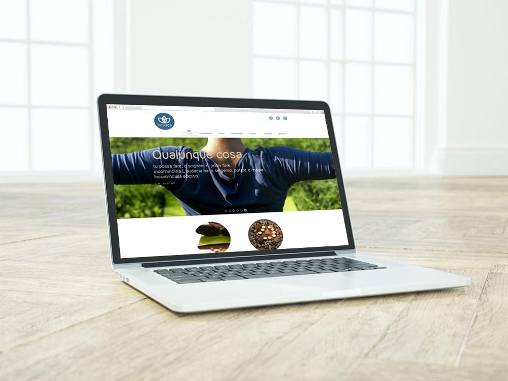 sito web per Associazione KeYoga - Padova